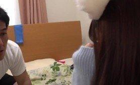 Petite Japanese girls turn into cats